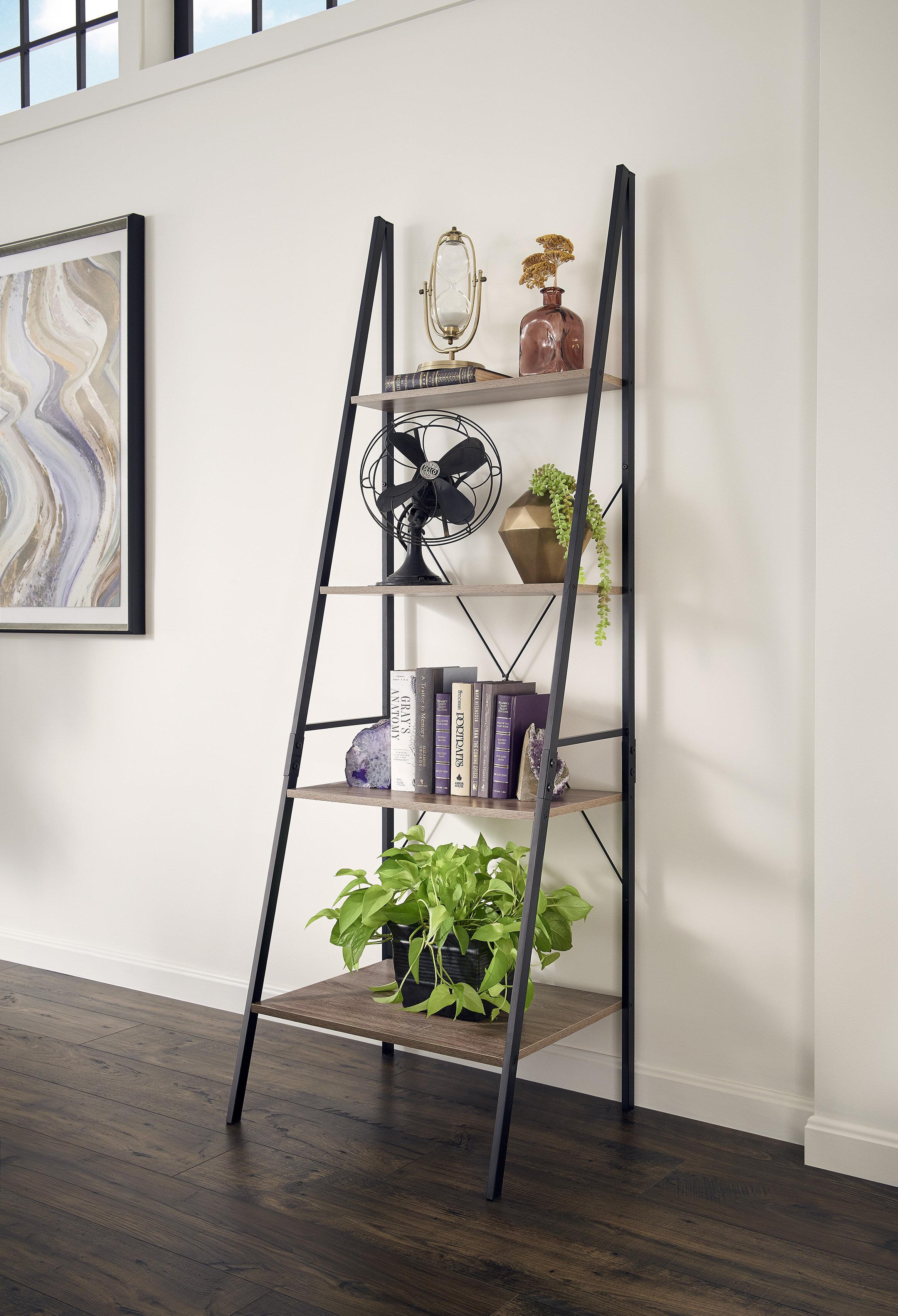 Mercury Row Almanzar Ladder Bookcase & Reviews
