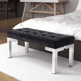 Mercer41 Roberdeau Upholstered Bench