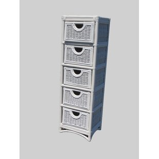 Cabery 5 Drawer Accent Chest by Highland Dunes