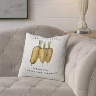 Alvarie Carrots Throw Pillow