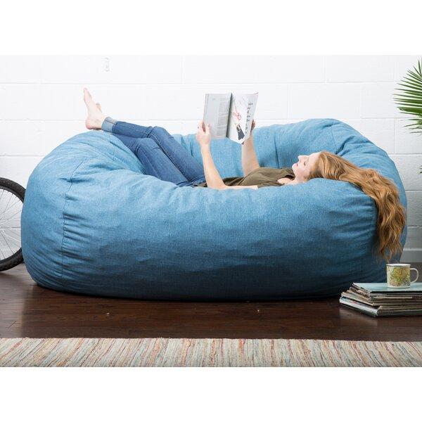Comfort Research Big Joe Lux Bean Bag Sofa U0026 Reviews   Wayfair
