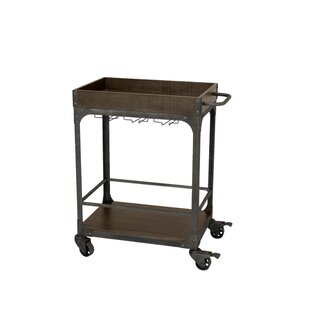 Burchett Server Bar Cart by Williston Forge