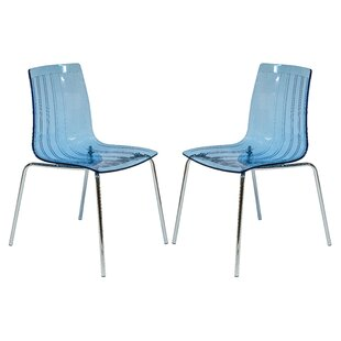 Rachael Stacking Patio Dining Chair (Set of 2)