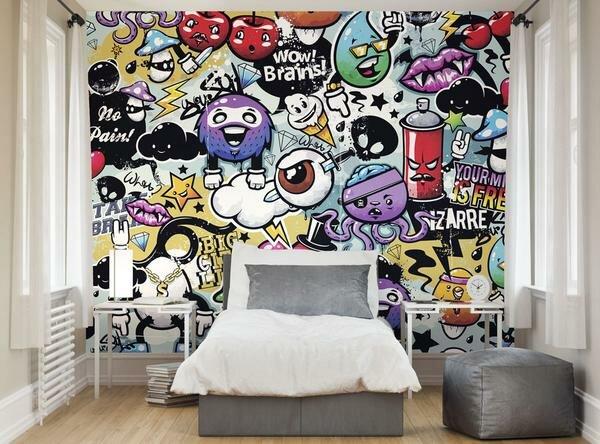 ohpopsi Graffiti Monster Wall Mural & Reviews | Wayfair.co.uk