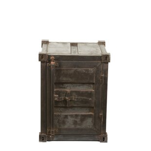 Stryker Industrial Vintage Metal 1 Door Accent Cabinet by Williston Forge