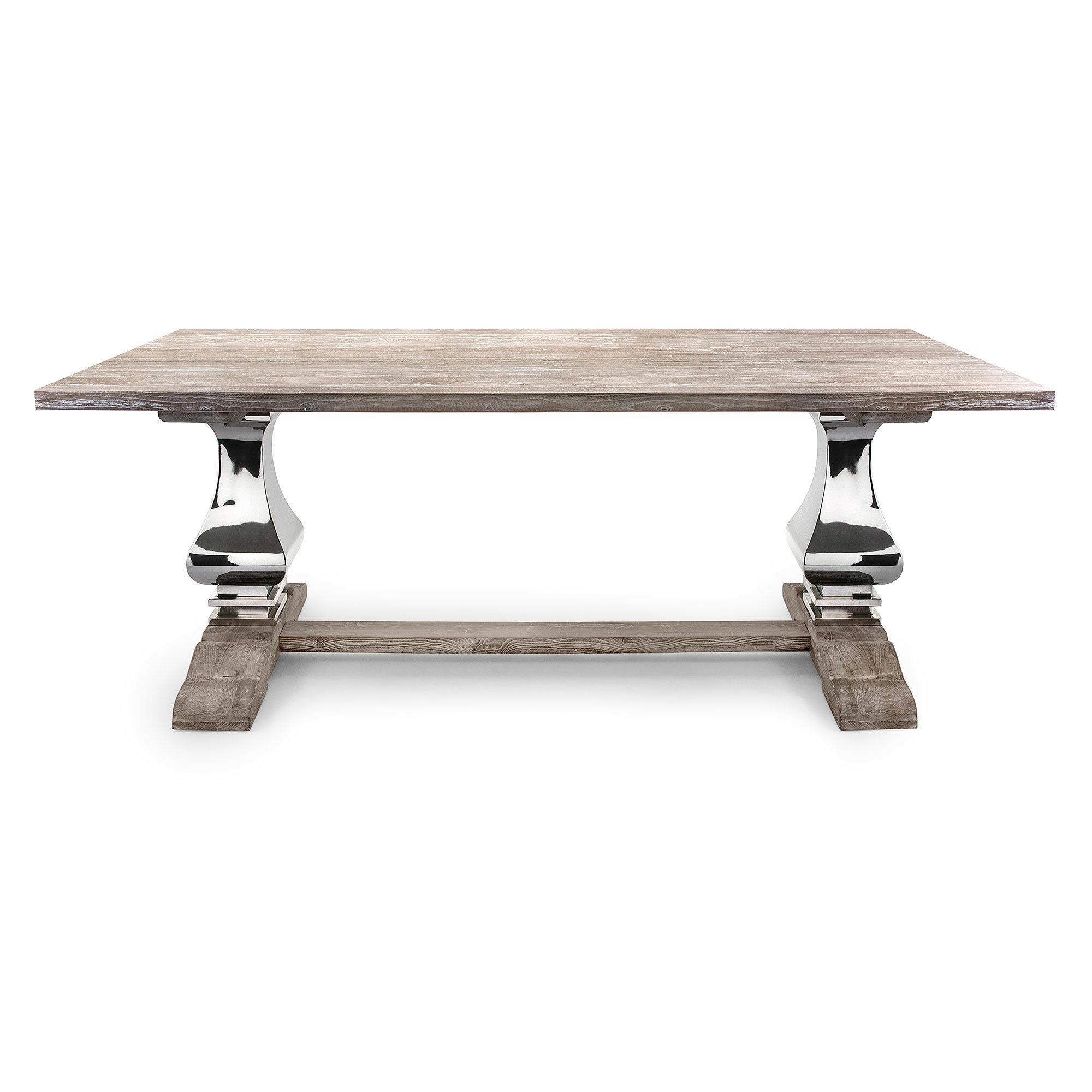 Bloomsbury Market Rodin Solid Wood Dining Table Reviews Wayfair