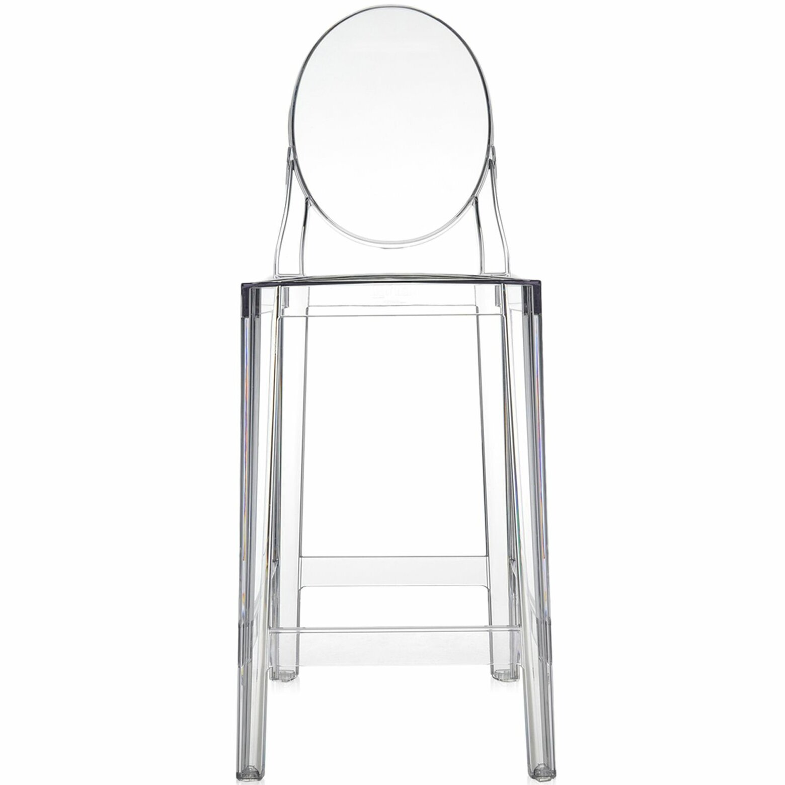Marvelous Kartell Ghost Bar Counter Stool Pabps2019 Chair Design Images Pabps2019Com