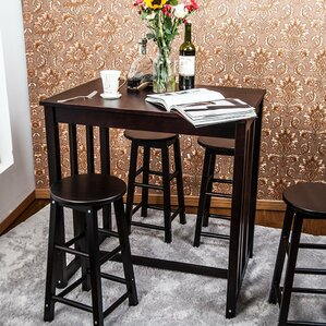 5 Piece Pub Table Set by Merax