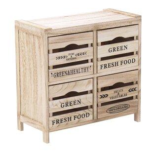 Mercado 4 Drawer Chest By August Grove