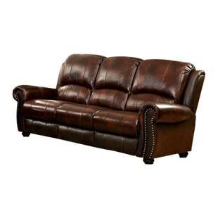 Gantz Top Grain Leather Sofa by Red Barrel Studio