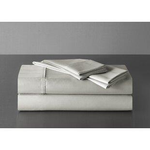 Highline Bedding Co. Sullivan Pinstripe 600 Thread Count 100% Cotton Sheet Set