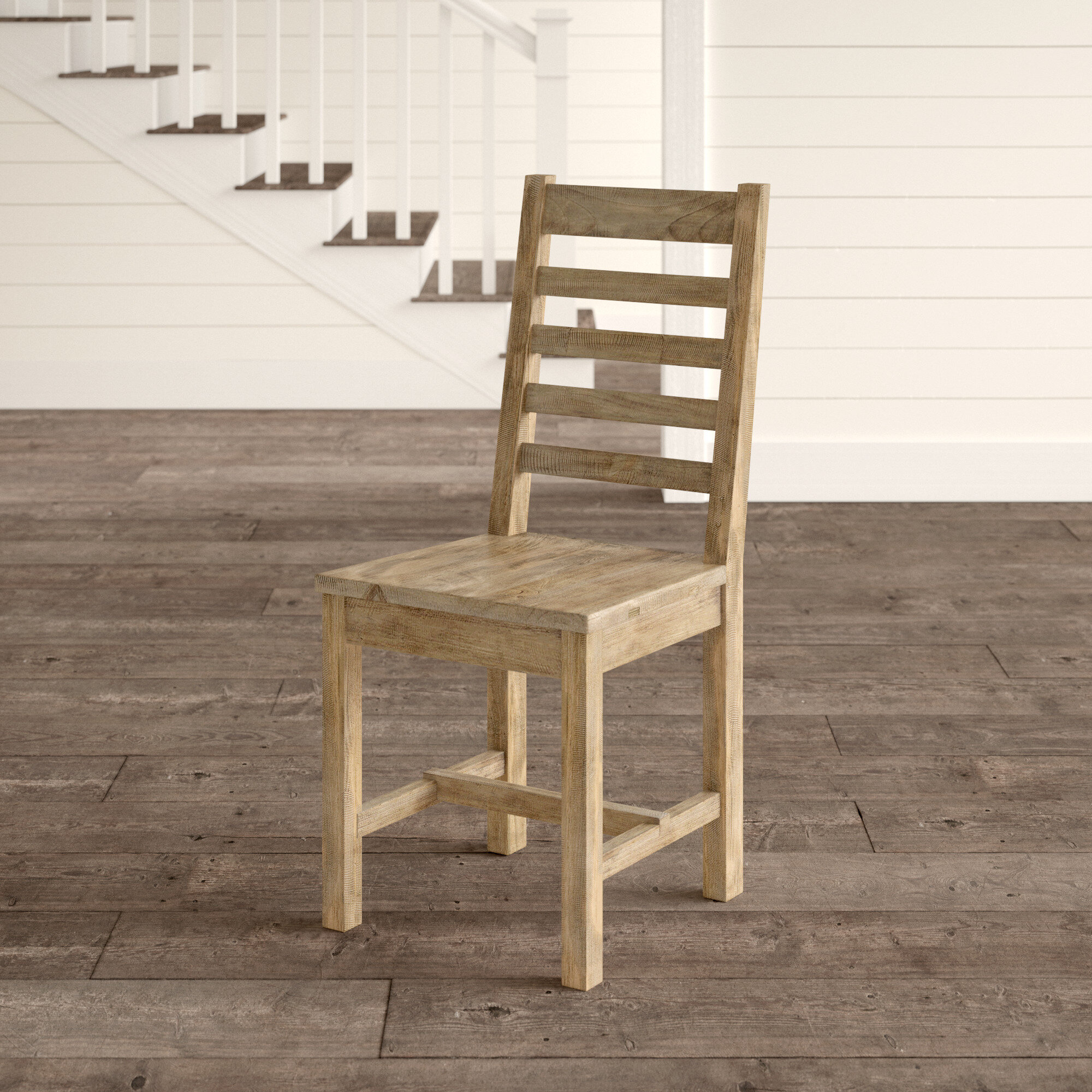 Farmhouse Rustic Light Wood Dining Chairs Birch Lane