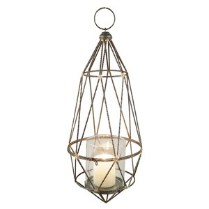 Wire Metal Hanging Lantern