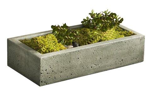 Campania International Inc Garden Terrace Cast Stone Planter Box Perigold