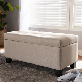 Salyers Storage Tufted Ottoman by Charlton Home