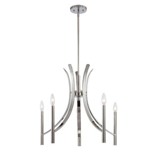 Latitude Run Wittig 5-Light Chandelier