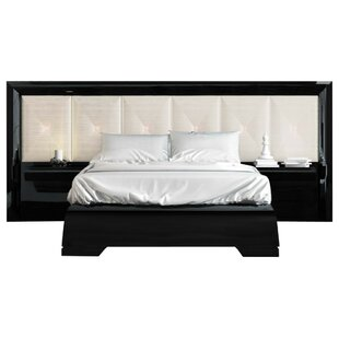 Kraker Special Headboard Platform 4 Piece Bedroom Set