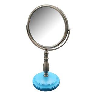 Alden Freestanding Bath Magnifying Makeup Mirror ByWinston Porter