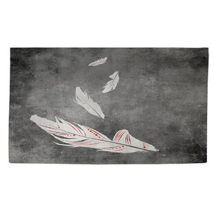 Purchase Feather Float White Area Rug ByManual Woodworkers & Weavers