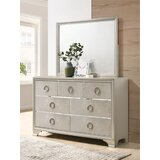 Croy 7 Drawer Dresser with Mirror by Rosdorf Park