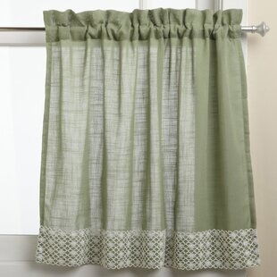 Schillinger Kitchen Tier Curtain (Set of 2)