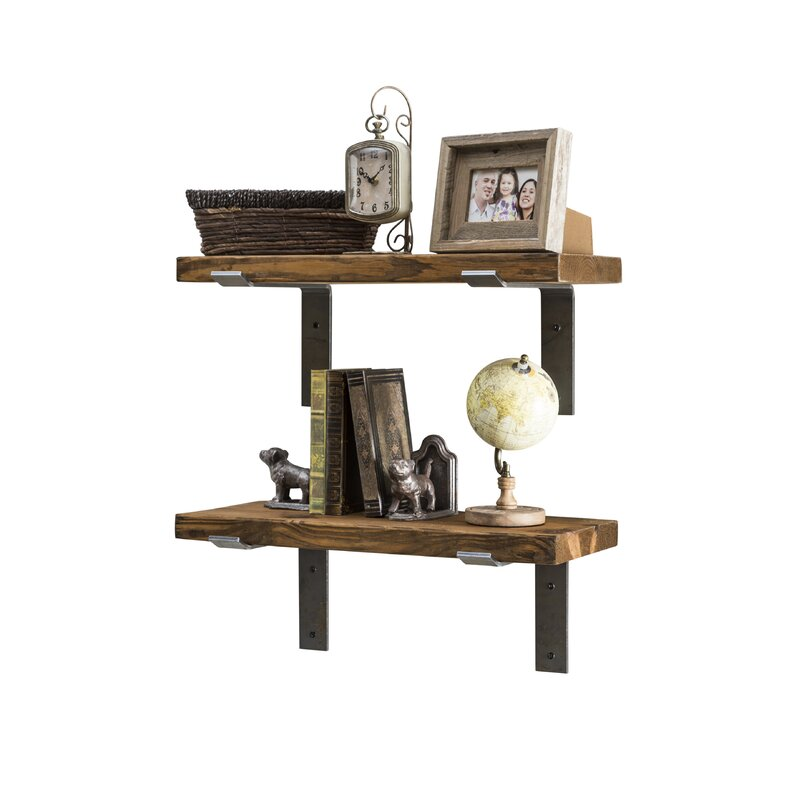 Langley Street Orlando Industrial Accent Shelves