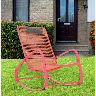 Brayden Studio Pick City Rocking Lounge Chair