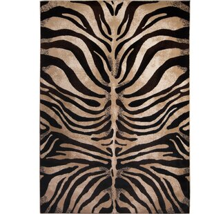 Edolie Black Ivory Area Rug