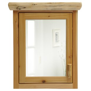 Cedar 32 x 33 Surface Mounted Medicine Cabinet By Fireside Lodge