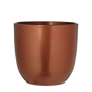 Alexandra Ceramic Plant Pot By Mercury Row