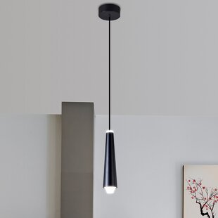 Quaoar 1-Light LED Cone Pendant by Brayden Studio