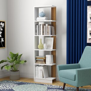 Geisler Modern Geometric Bookcase by Ebern Designs