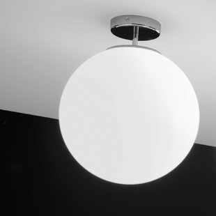 Ai Lati Sferis 1-Light Semi Flush Mount