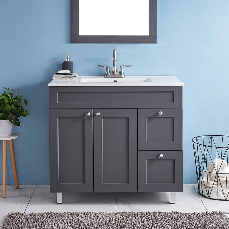Latitude Run Cheire 36 Single Bathroom Vanity Set Wayfair