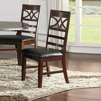 Rudisill Upholstered Dining Chair Charlton Home