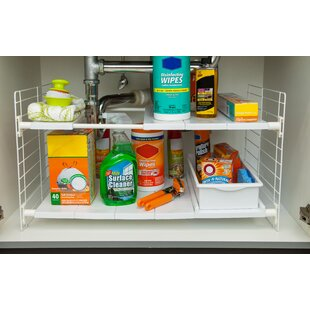IRIS USA, Inc. Under-Sink Shelving Rack