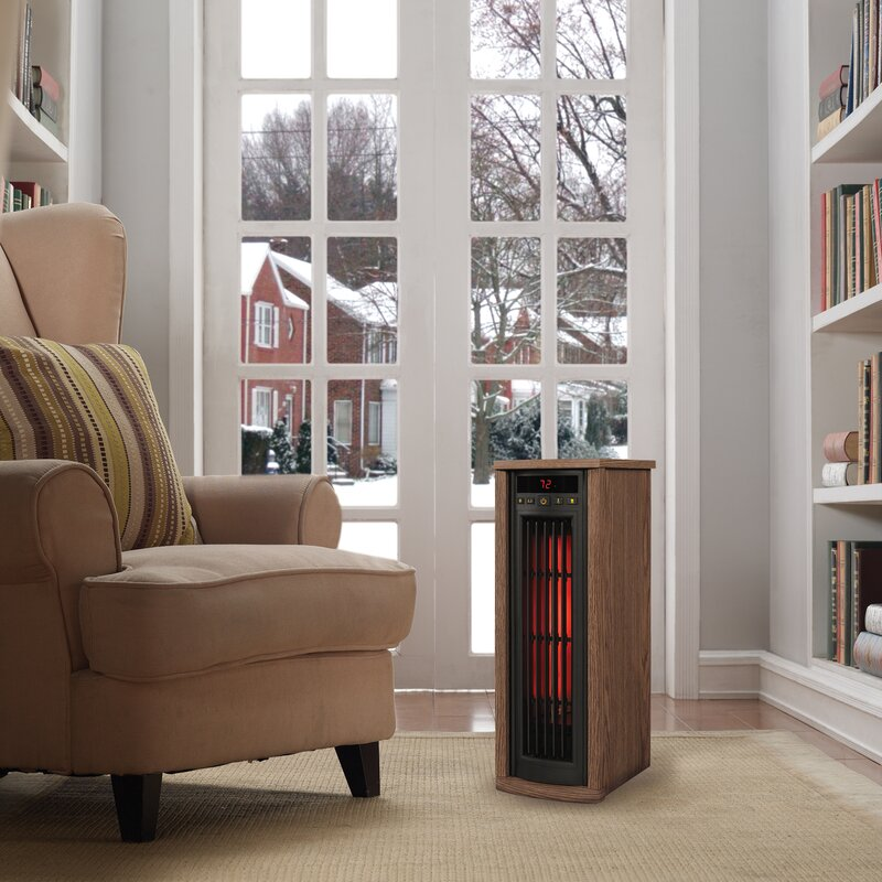 1,500 Watt Electric Infrared Tower Heater