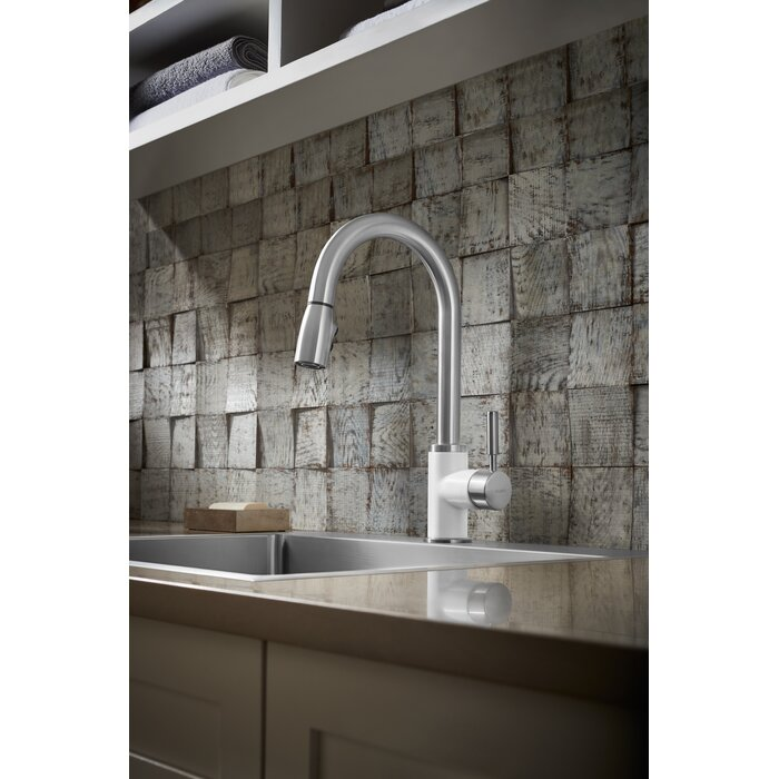 Sonoma Pull Down Single Handle Kitchen Faucet