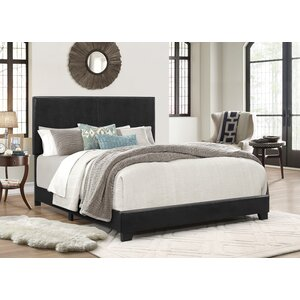 Erin Upholstered Panel Bed by Crown Mark