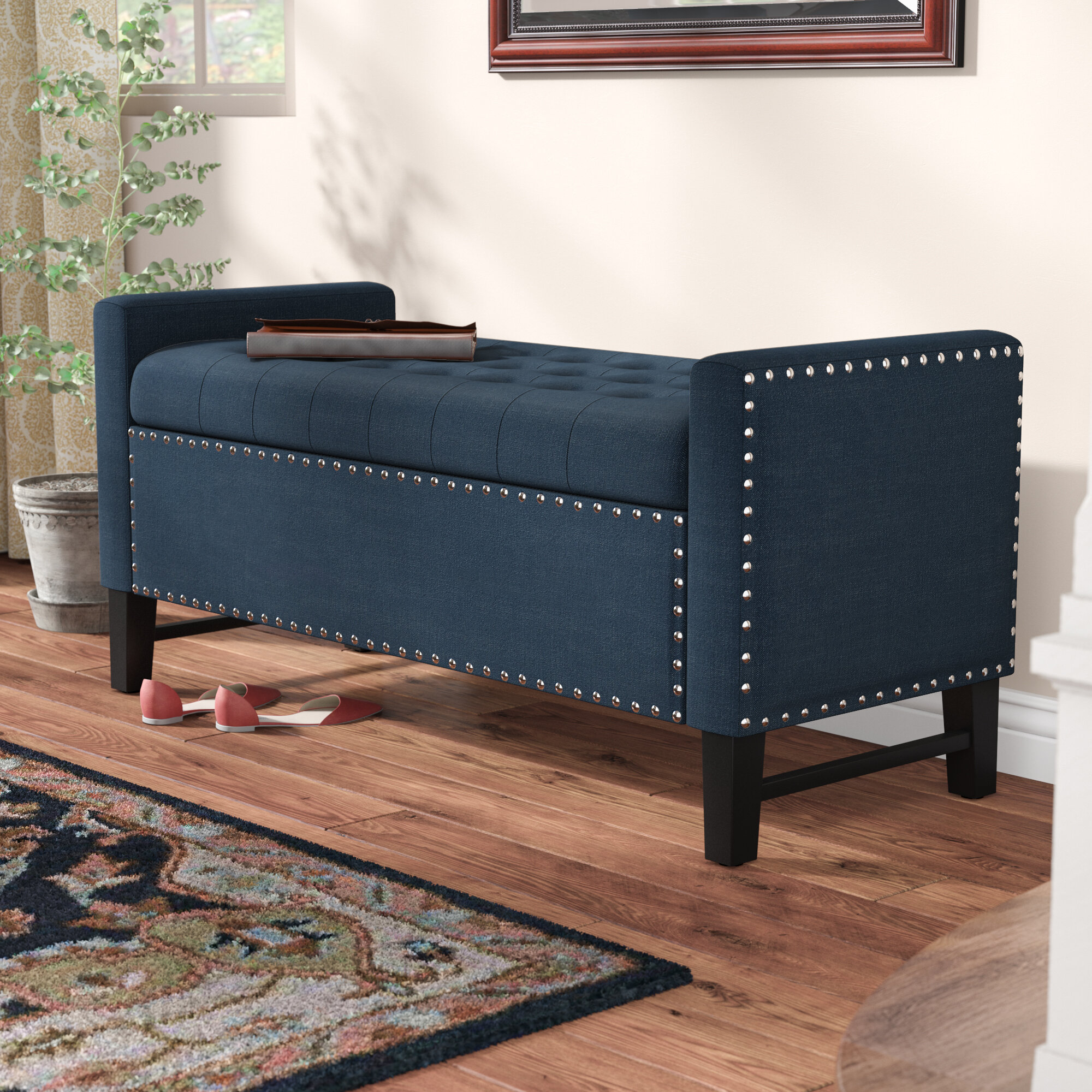 button today house free overstock product sofa shipping garden republic design tufted bench home deep settee
