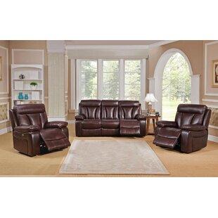 Lenny 3 Piece Living Room Set