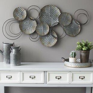 3430190dbc Metal Plate Wall Decor | Wayfair