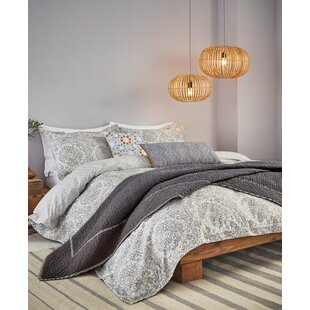 Middlet Reversible Comforter Set by World Menagerie