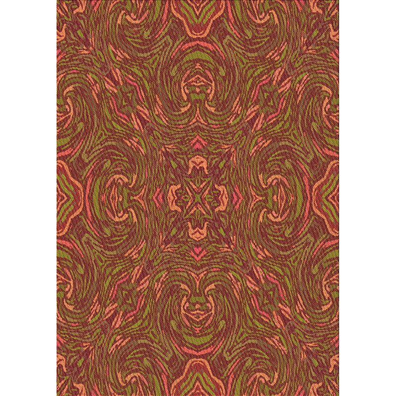 East Urban Home Abstract Wool Bricks Area Rug Wayfair