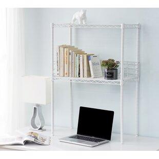Burroughs Mini Desktop Etagere Bookcase by Rebrilliant