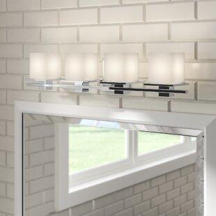 Brayden Studio Macri 4-Light Vanity Light