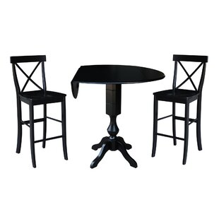 Boyland 3 Piece Pub Table Set DarHome Co