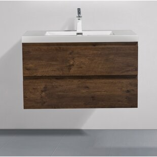 Loscalzo 36 WallMounted Single Bathroom Vanity Set by Orren Ellis