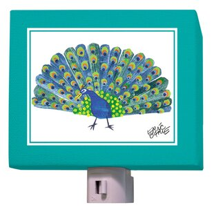 Oopsy Daisy Eric Carle's Peacock Night Light
