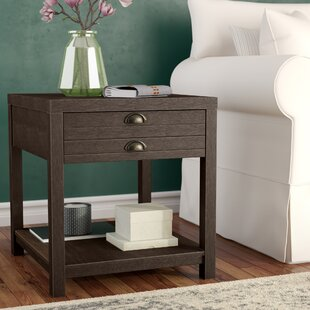 Laurel Foundry Modern Farmhouse Delvalle Rectangle End Table